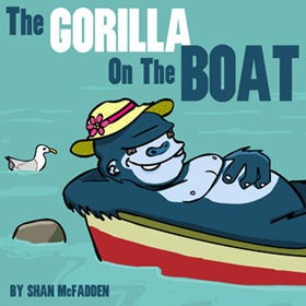 The gorilla on the Boat