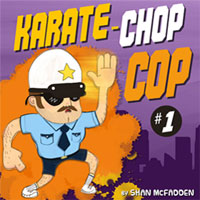 Karate-Chop Cop #1 Free Children's AudioBook